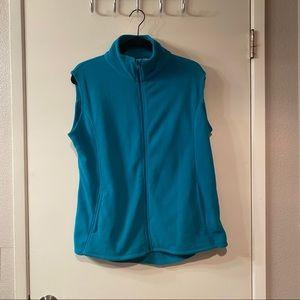 Great Northwest Clothing Company Green Blue Vest